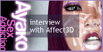 Interview: Affect3D (July 19th, 2011)This time our interview features Affect3D, a brand new star of DLsite.com!