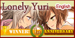 Lonely Yuri in English!Lonely Yuri, the winning title of the first anniversary campaign, available in the English version!