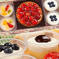 苺チーズケーキ&生プリン4個