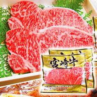 宮崎牛サーロインステーキセット