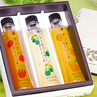沖縄 飲むフルーツ酢(希釈用)3本セット