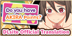 "Do you have AKIRA Points? [English Ver.] Earn points to win ""special"" favors!!"